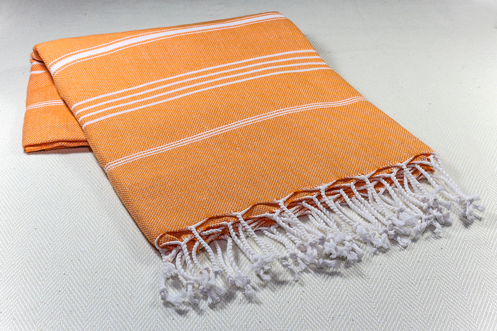 Basic Turkish  Cotton Pesthemal -Orange-