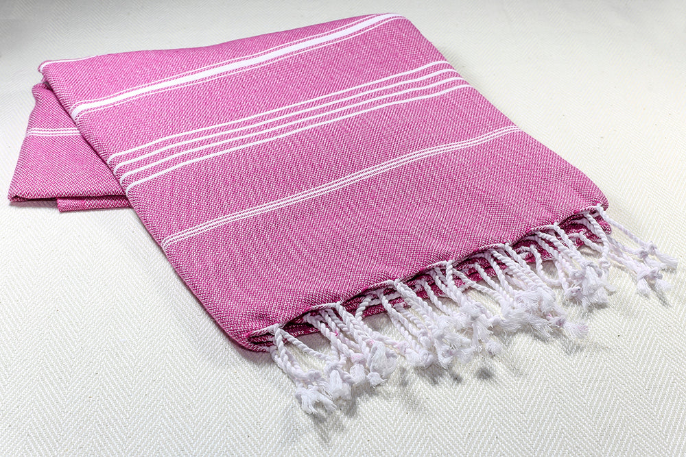 Basic Turkish  Cotton Pesthemal -Pink-