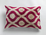 SILK IKAT & VELVET IKAT Double-sided Pillow Cases 40cm x 60cm
