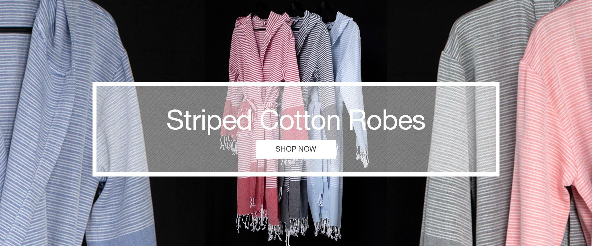 Striped Cotton Robes