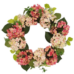 Spring Floral Wreath Garland