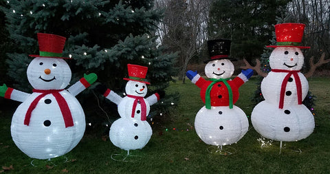ese pre lit led lighted pop up snowman sparkling christmas indoor outdoor