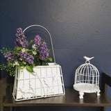 Metal Basket  Flower stand  wall decor