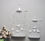 Metal Birdcage Wall Decoration, 2 asst.