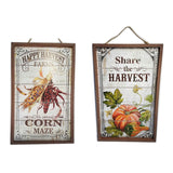 Fall Wood Sign