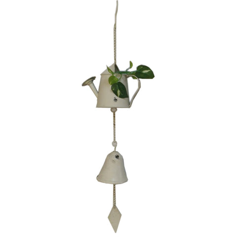 Metal Wind chime -Watering can shape
