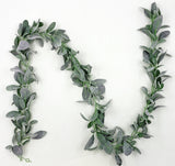Artificial Lambs Ear Garland 6'