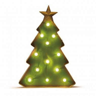 "Christmas Marquee LED Christmas Tree Light, 16.15""H"