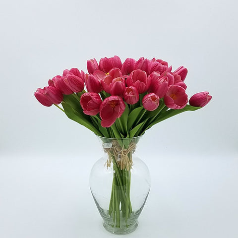 "TULIP BRANCH BUNDLE, 18""H"