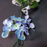 Hydrangea Garland Blue/Purple, 72""