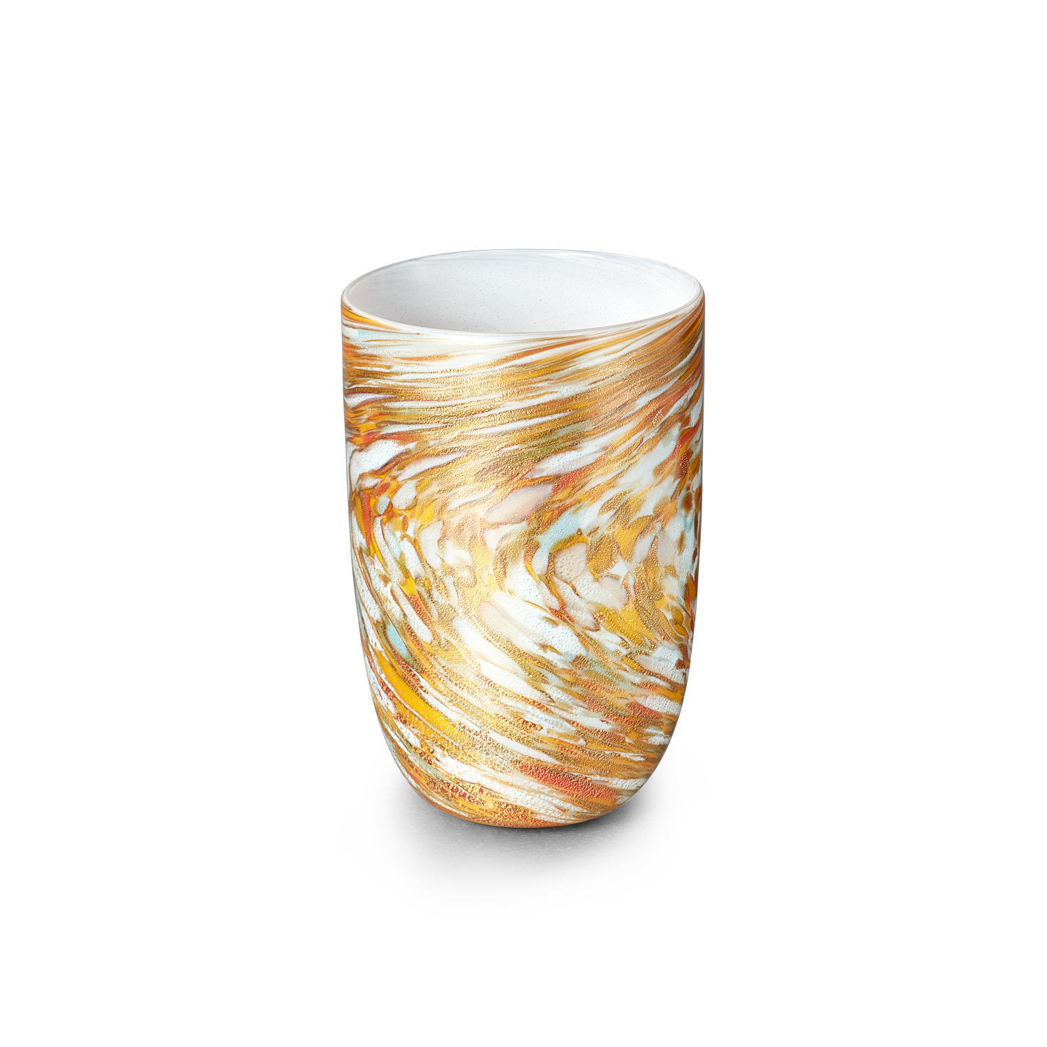 LagunaB Murano Sunshine Drinking Glass