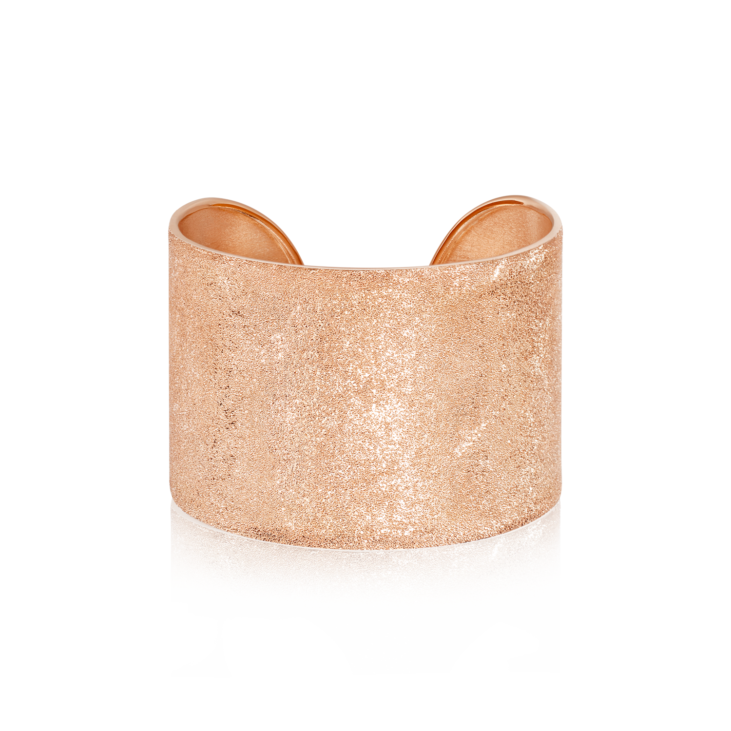 Florentine Finish CFF Thick Cuff Pink Gold