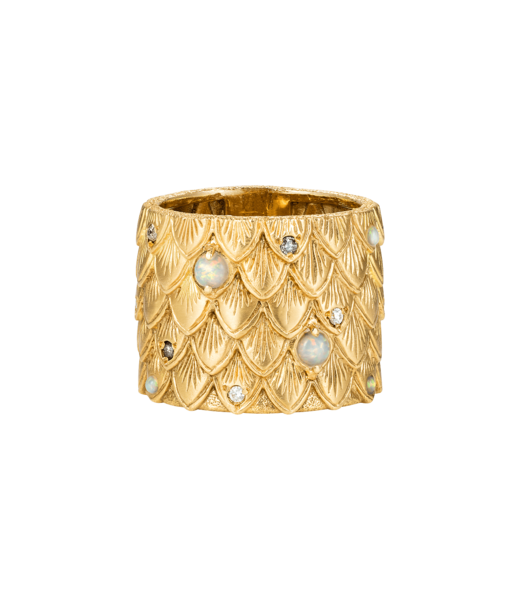 Carolina Bucci Owl Feather Ring