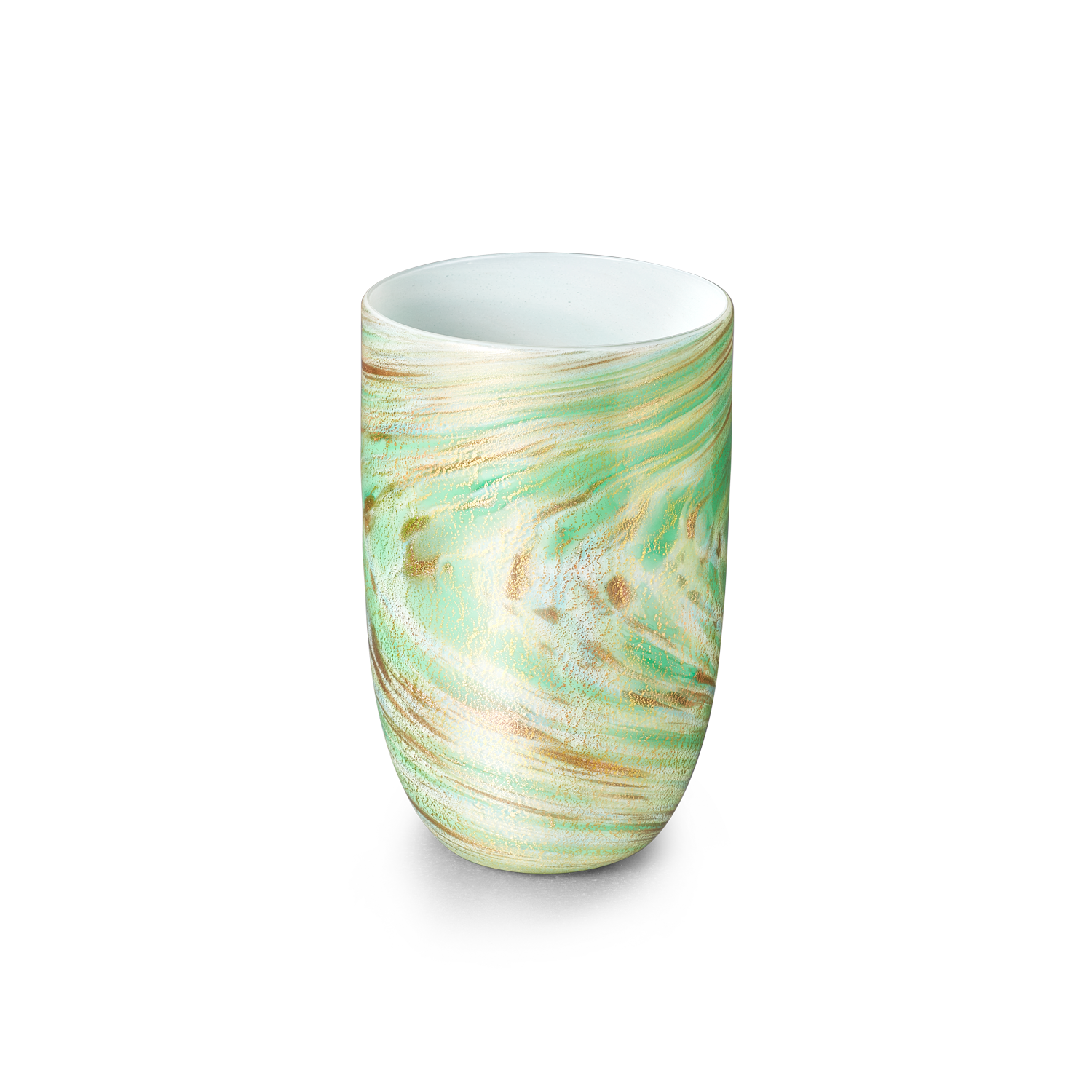 LagunaB Murano Green Drinking Glass