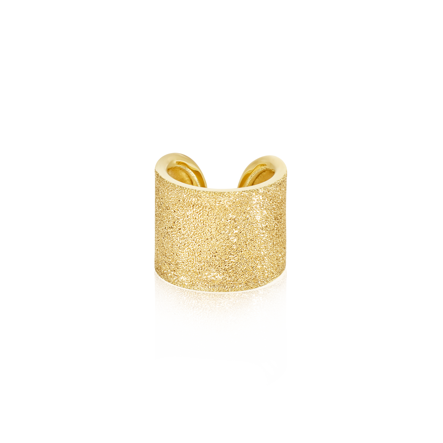 Carolina Bucci Florentine Finish Cuff Ring