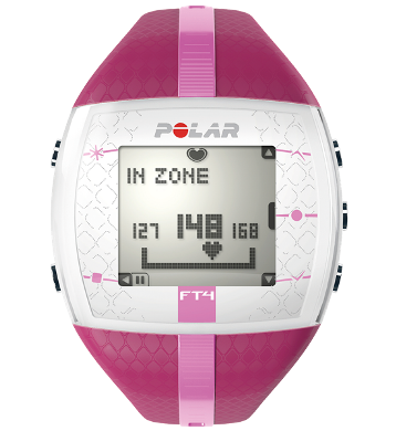 Polar FT4 Pink Fitness Heart Rate Monitor