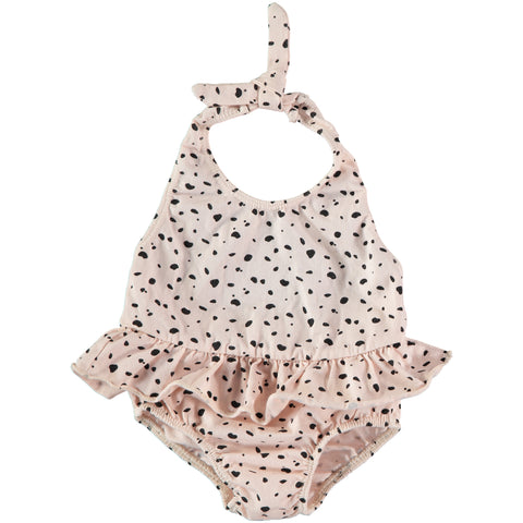 Swimsuit 'Girl' Pink