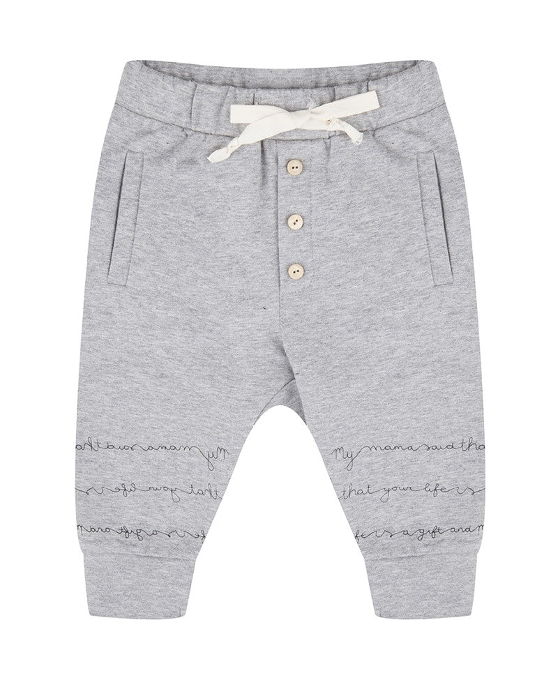 Broekje Sweatpants 'Lenny' Little Indians MyLittleStar