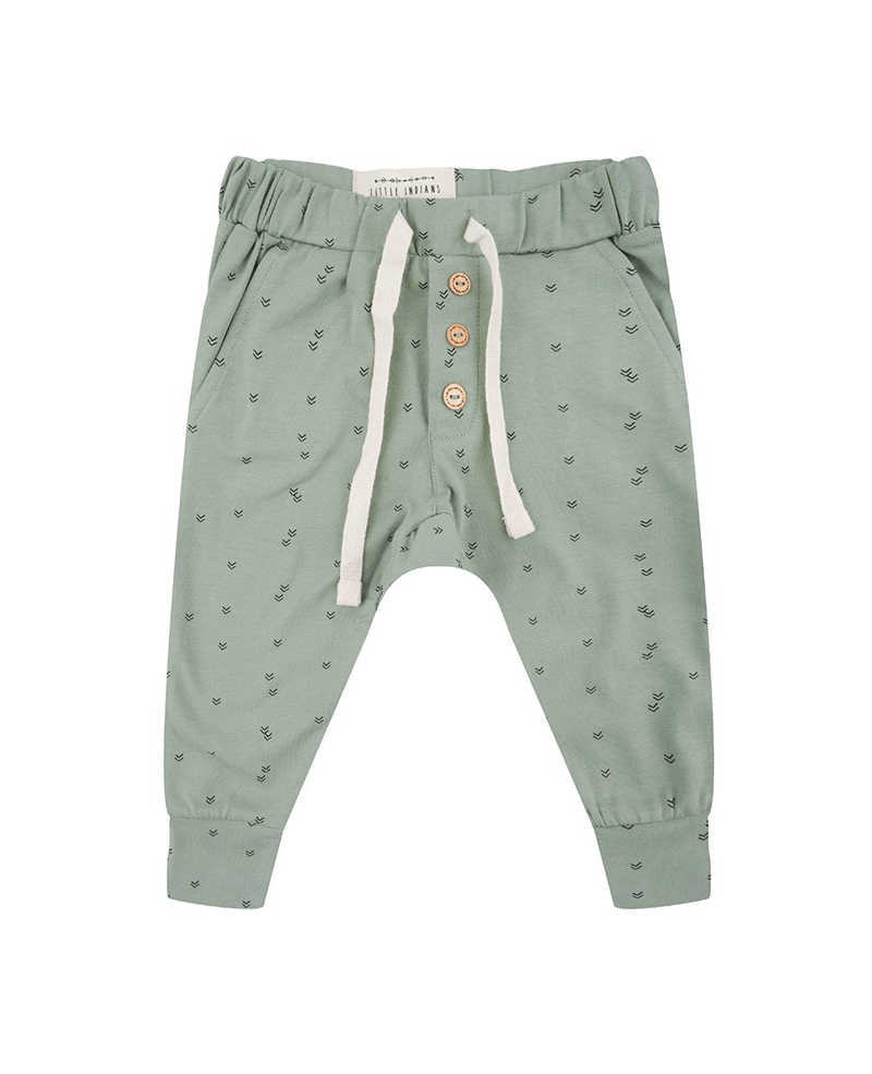 Broekjes - Sweatpants 'Small Arrow' Soft Green