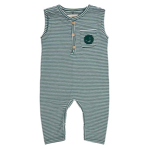 Jumpsuit 'Forest Stripe'