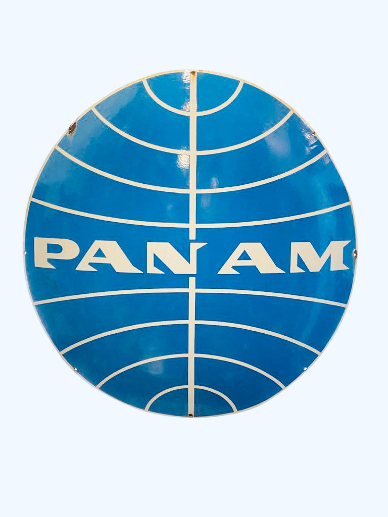 Vintage pan Am sign original