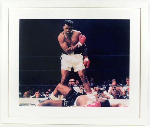 Muhammad Ali vs Sonny Liston - aptiques by Authentic PreOwned
