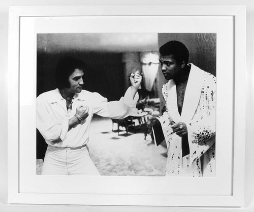 Muhammad Ali with Elvis Presley - aptiques by Authentic PreOwned
