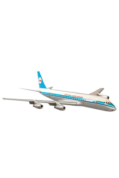 KLM DC8 Large Aircraft Cutaway Model - aptiques by Authentic PreOwned