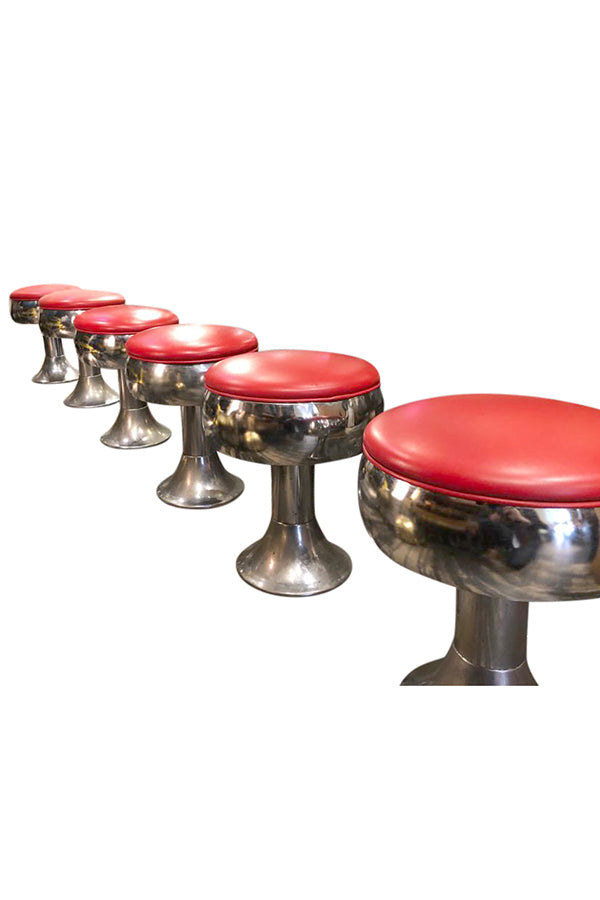 Vintage Fountain Soda Stools - aptiques by Authentic PreOwned
