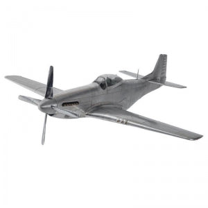 WWII Mustang Model Plane - aptiques by Authentic PreOwned