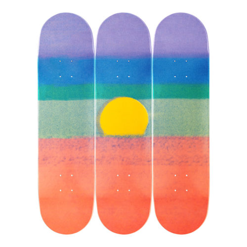 Andy Warhol-Sunset-Orange-Skateboards - aptiques by Authentic PreOwned