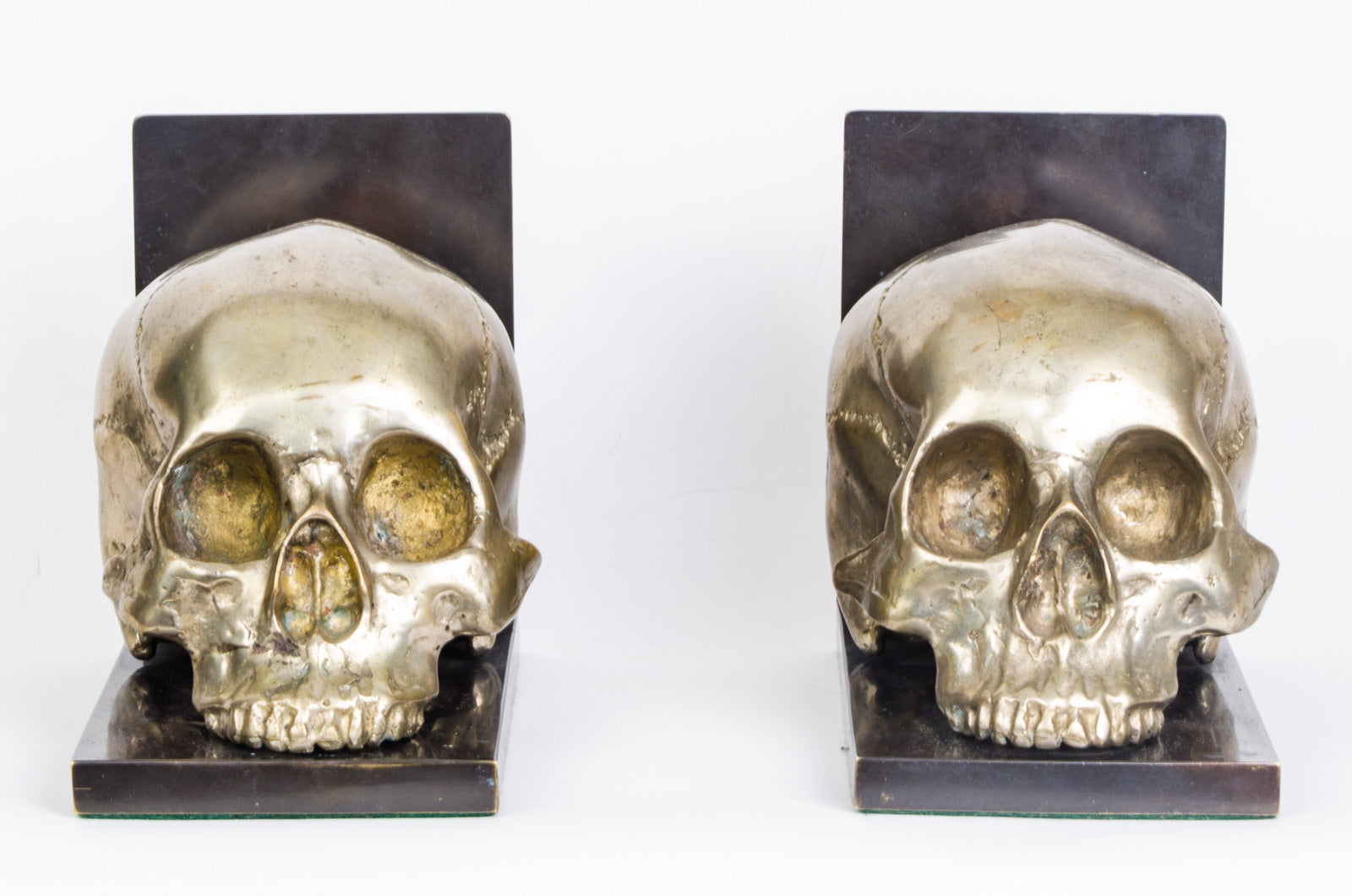 Skull Head Bookends (RARE) - aptiques by Authentic PreOwned