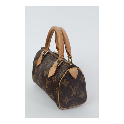 Louis Vuitton Mini Speedy with Strap - aptiques by Authentic PreOwned