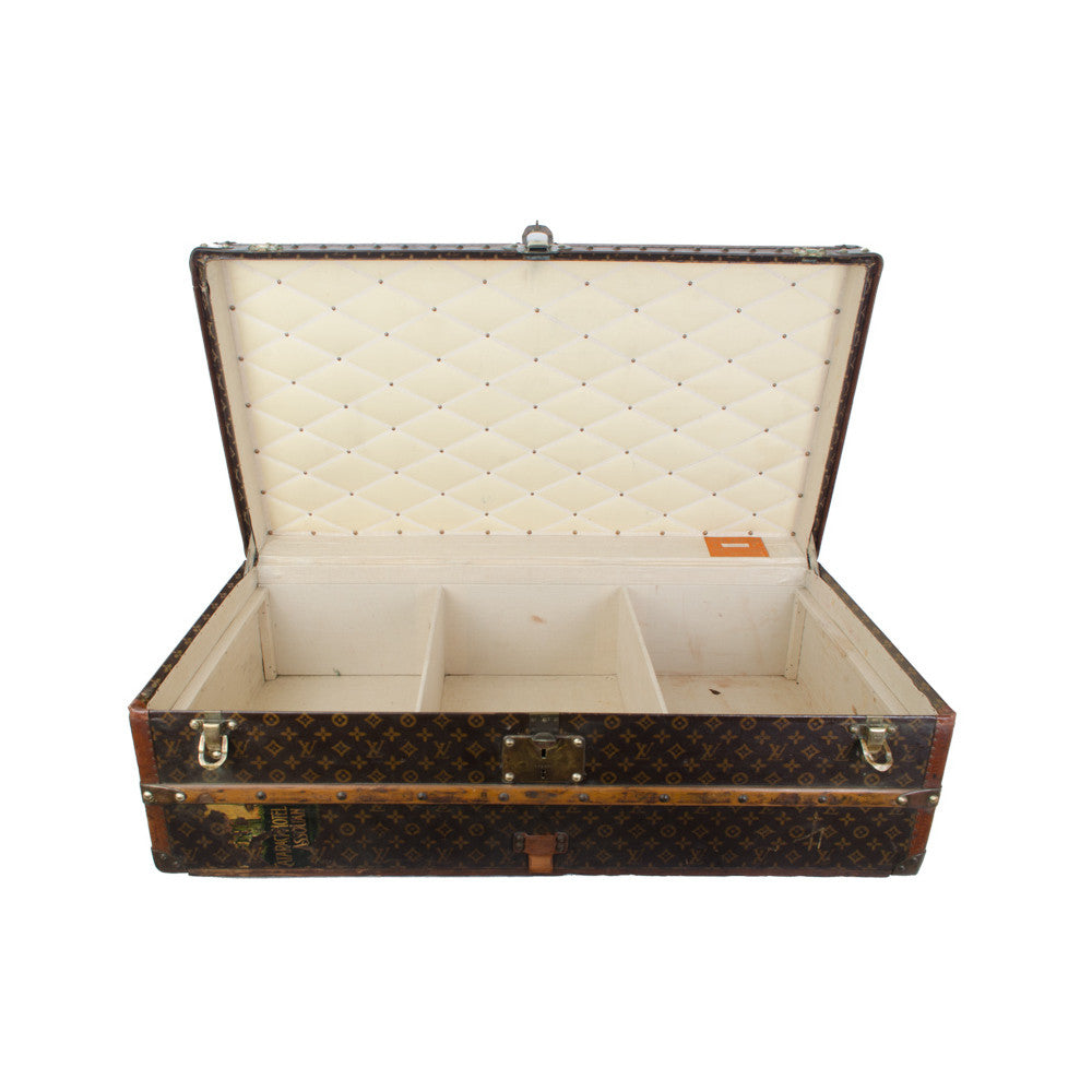 Louis Vuitton Half Steamer Trunk
