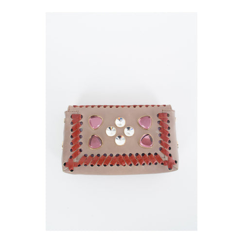 Fendi Jeweled Clutch