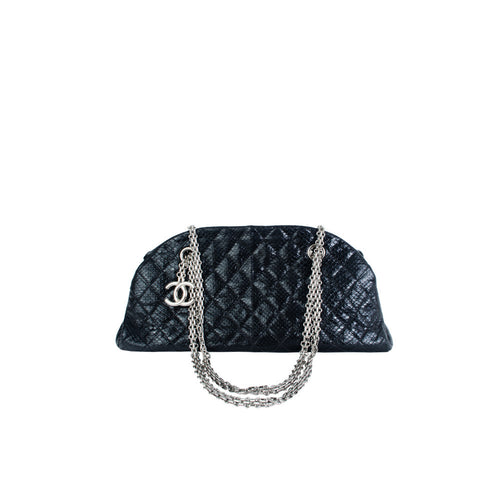 Chanel Python Bowler - aptiques by Authentic PreOwned
