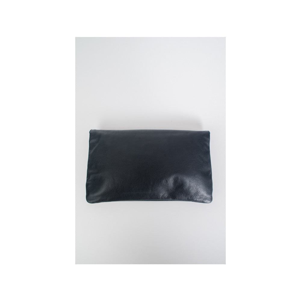 Balenciaga Giant Envelope Clutch Anthracite - aptiques by Authentic PreOwned