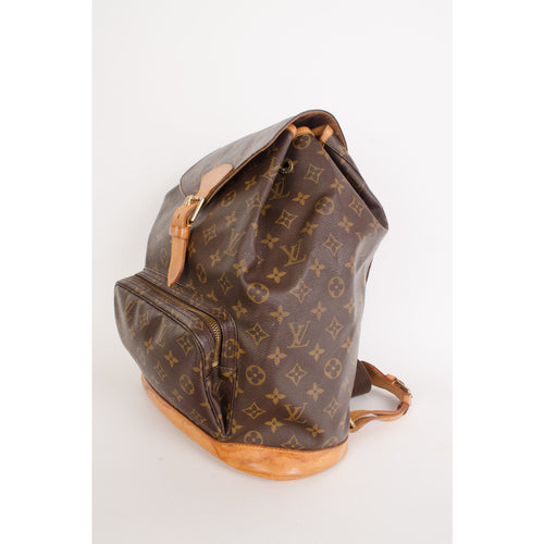 Louis Vuitton Backpack Montsouris GM - aptiques by Authentic PreOwned