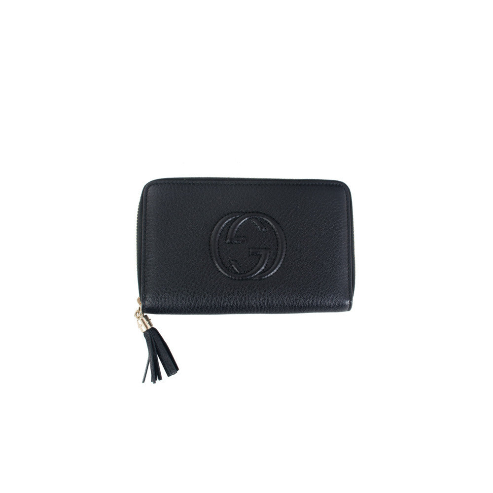 Gucci Zip Around Wallet - Authentic PreOwned