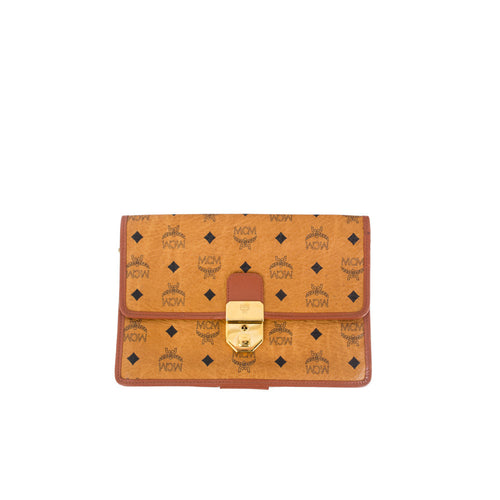 MCM Credit Card Wallet Clutch - aptiques by Authentic PreOwned