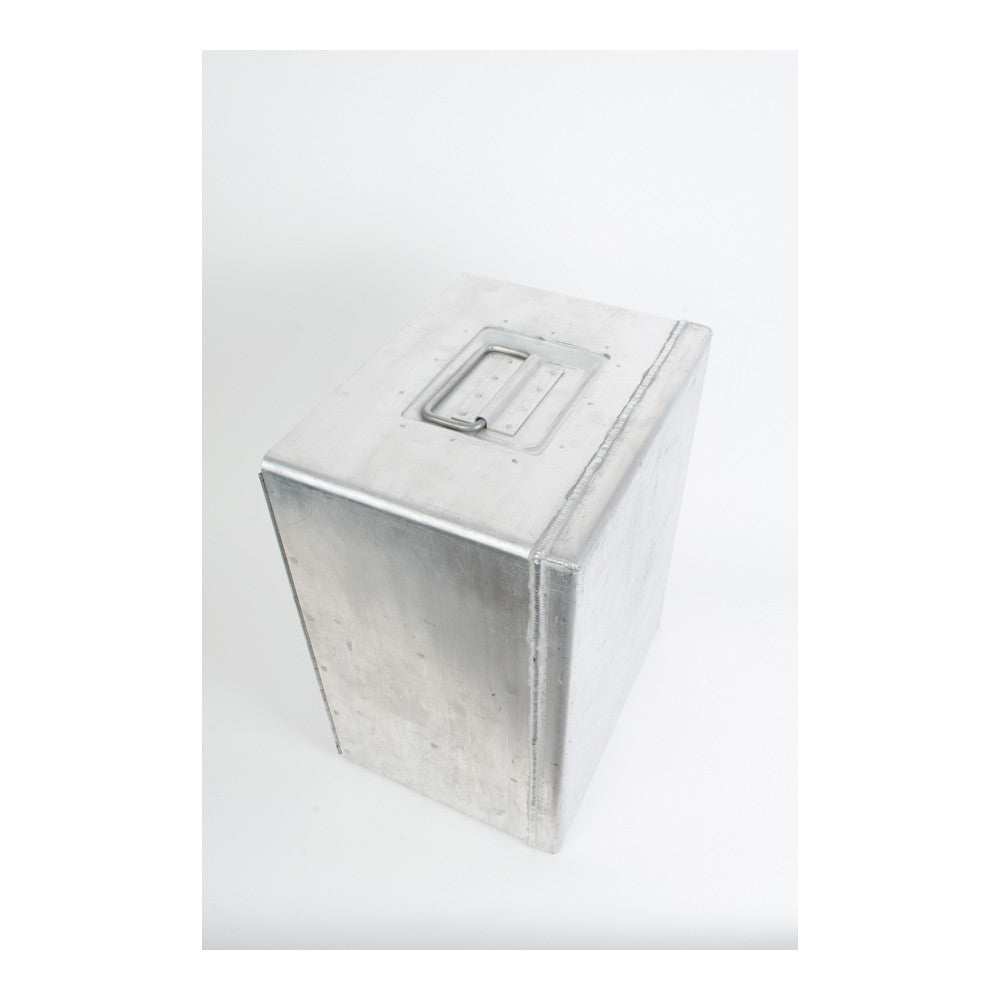 Continental Airlines Metal Lock Box