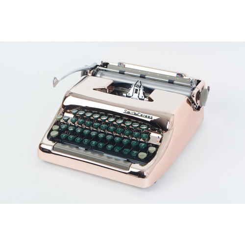 Smith Corona 1955 Rose Gold Plated Typewriter