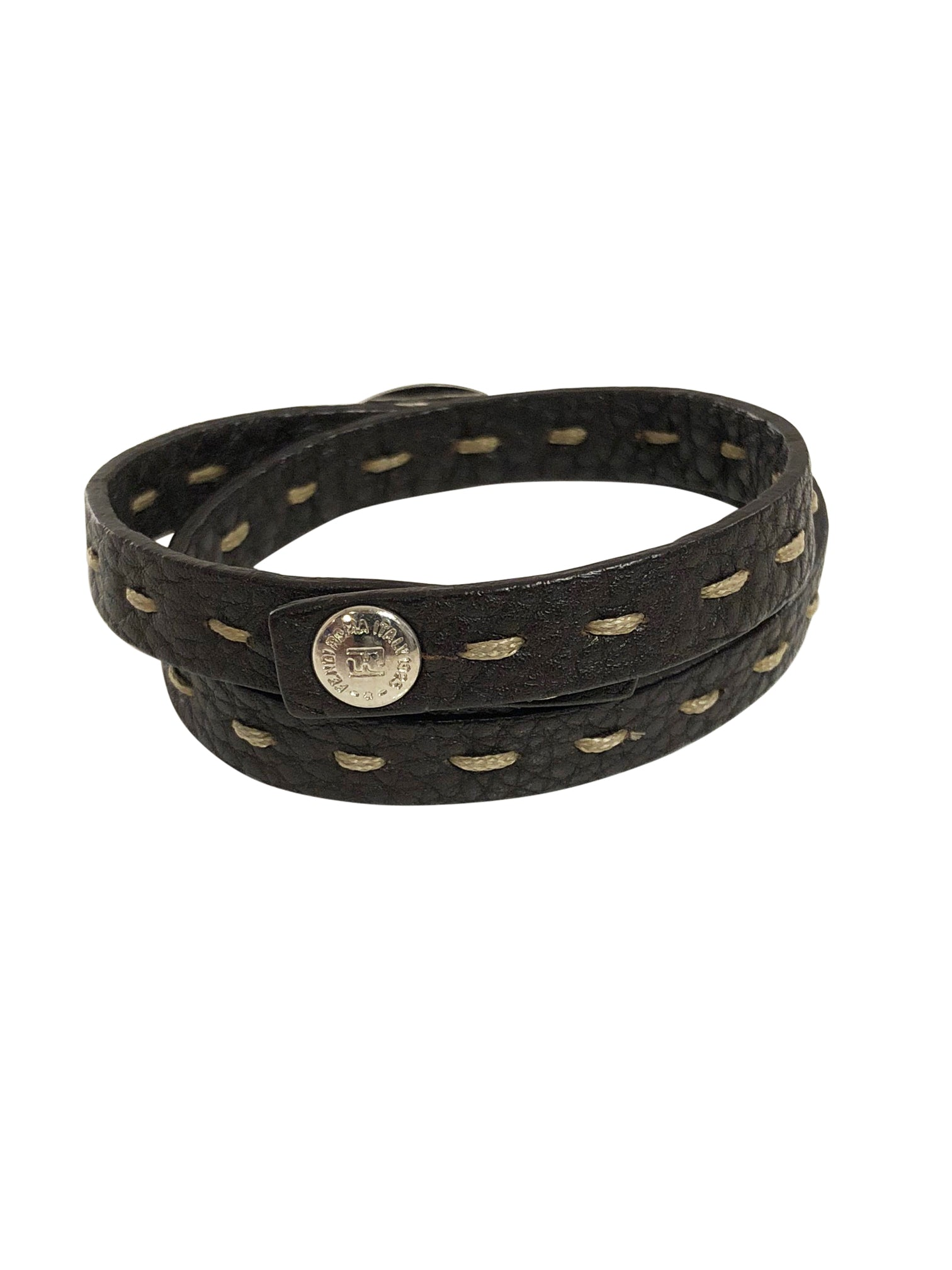 Fendi Leather Bracelet - aptiques by Authentic PreOwned