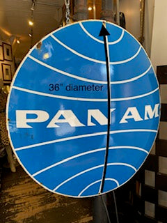 Pan Am Sign