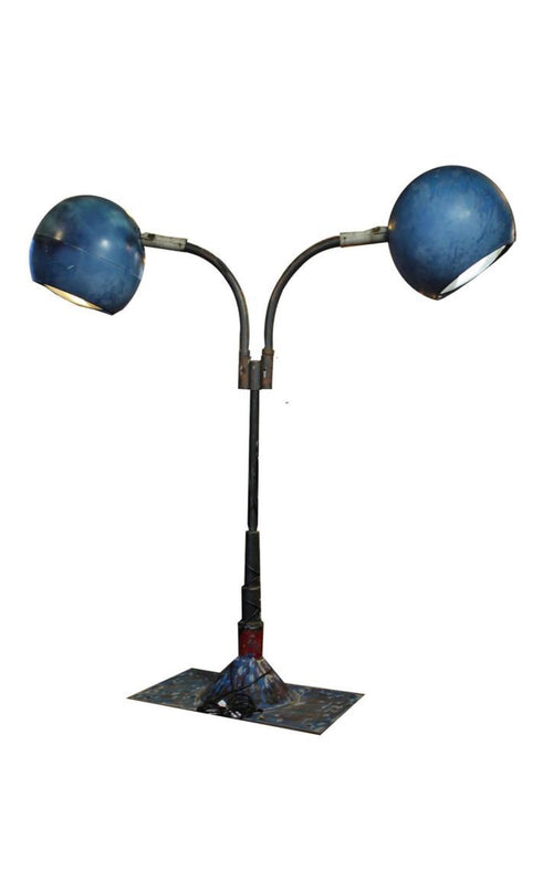 Massive Industrial Drive-in movie Lights - aptiques by Authentic PreOwned
