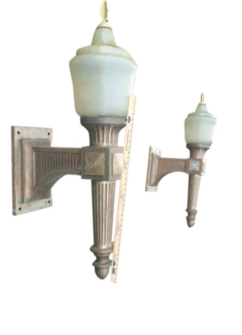 Historic -Lindbergh Viaduct Arch Bridge Light Fixtures - aptiques by Authentic PreOwned