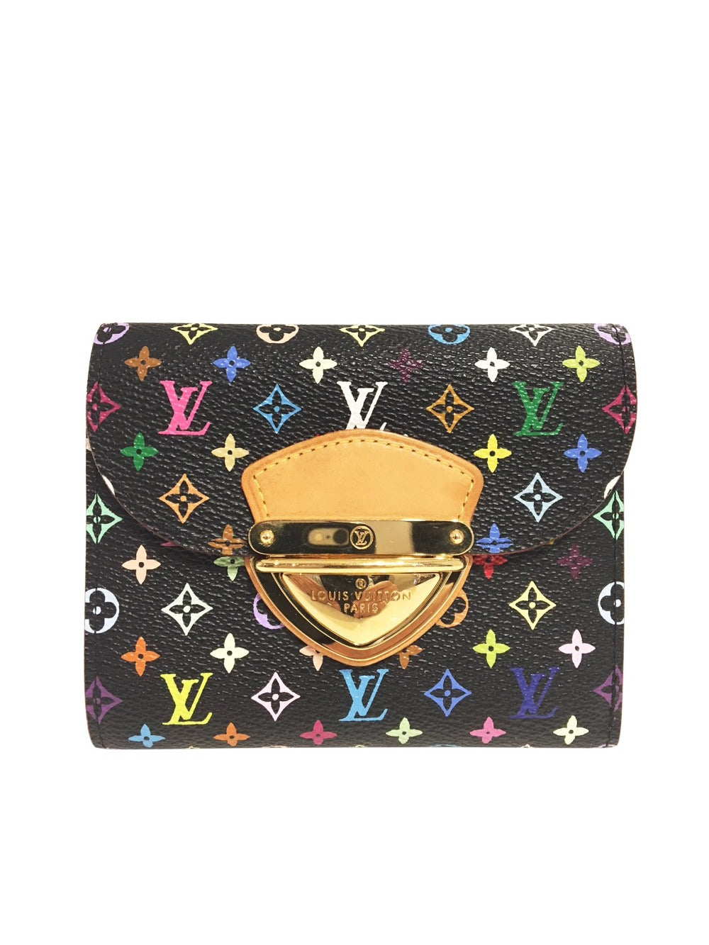 Louis Vuitton Tricolor Wallet - aptiques by Authentic PreOwned