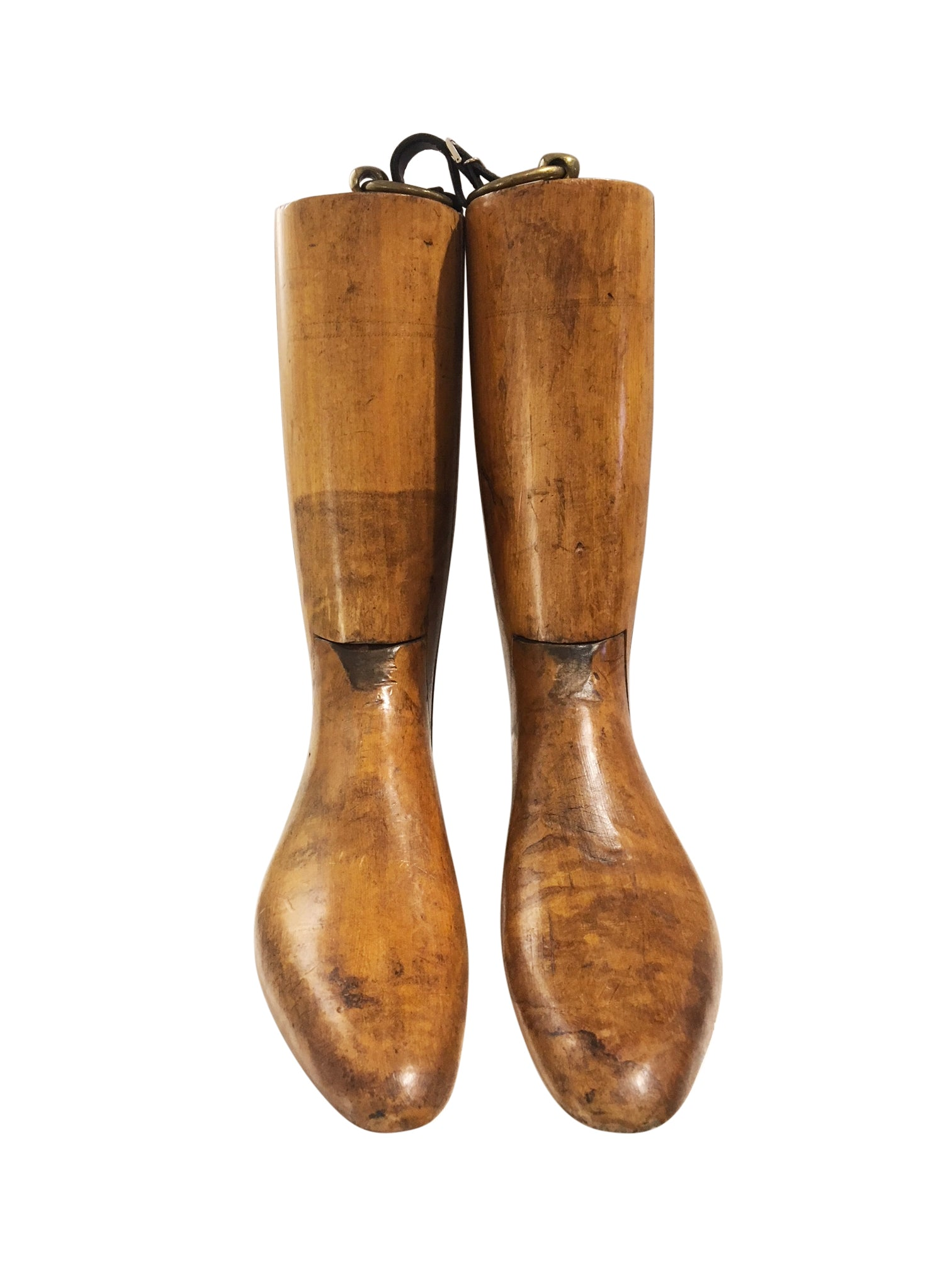 Vintage Wood Boots Form - aptiques by Authentic PreOwned