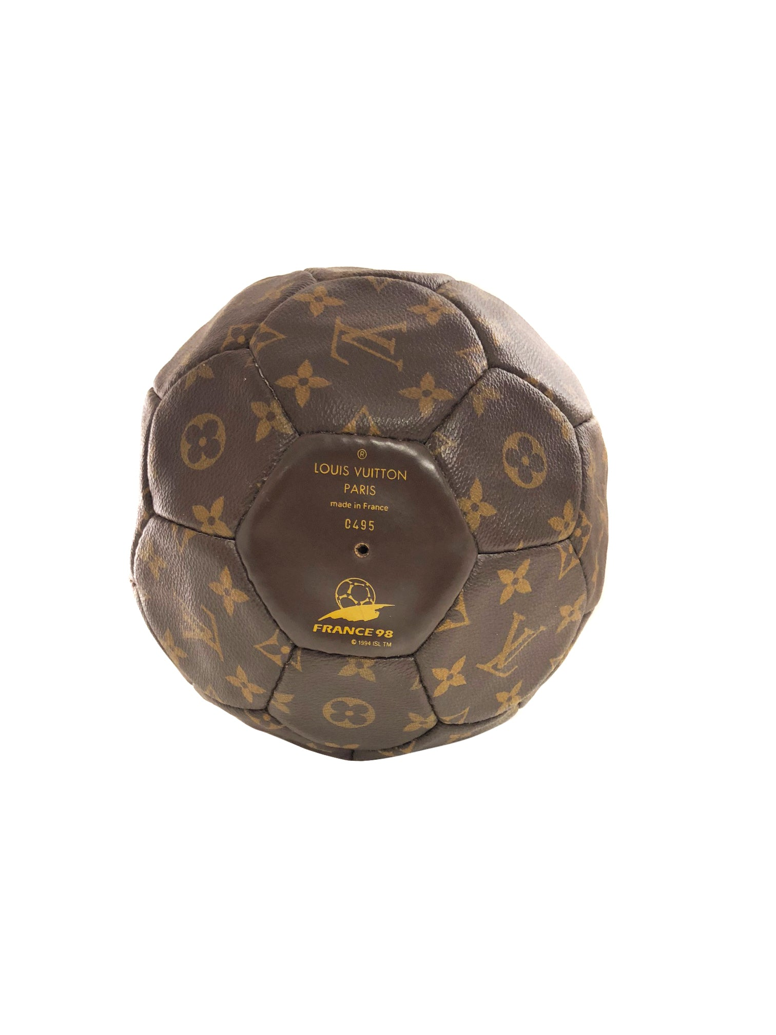 Vintage Louis Vuitton Soccer Ball