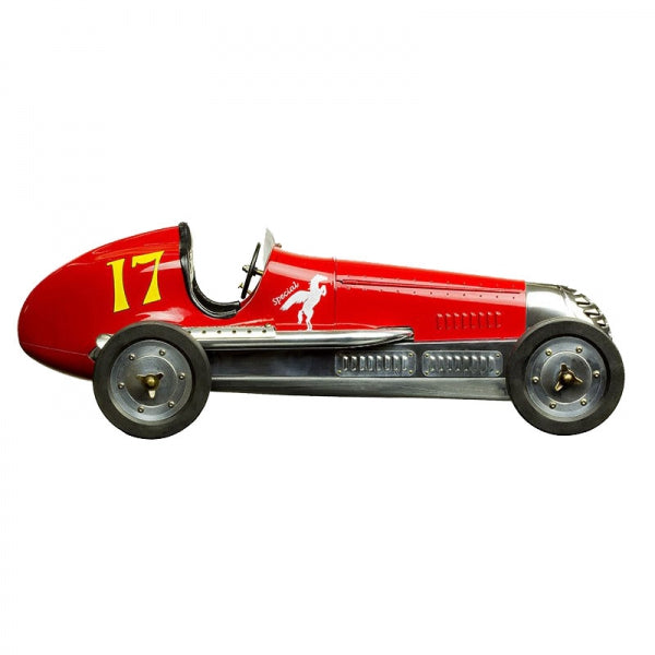 BB Korn Model Car- Red - aptiques by Authentic PreOwned